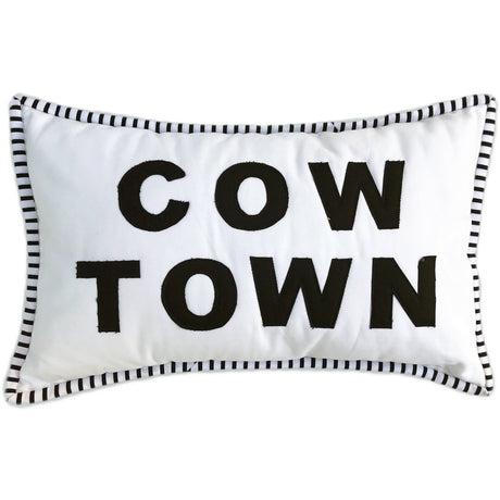 Cowtown Accesory Pillow