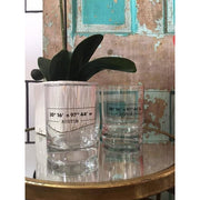 Austin Coordinates Double Old Fashion Glass