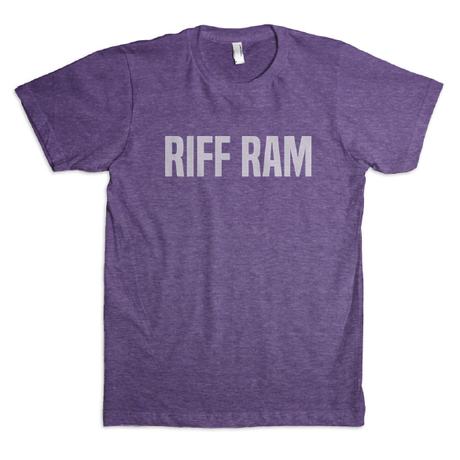 Riff Ram Relaxed Fit Triblend Tee - Vintage Purple