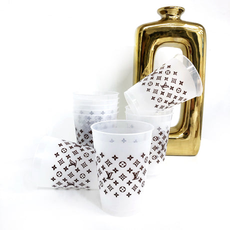 Louis Vuitton Shatterproof Cups - 12 oz. & 16 oz.
