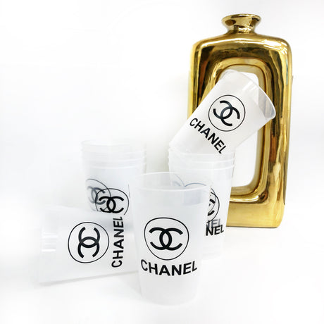 Chanel Shatterproof Cups - 12 oz. & 16oz.