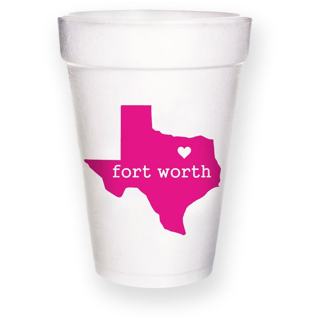 Fort Worth Styrofoam Cups