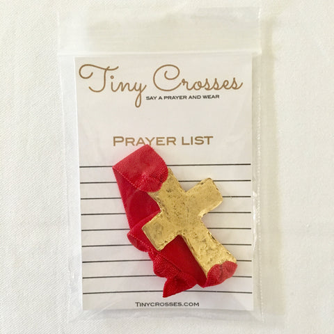 Red Prayer Bracelet