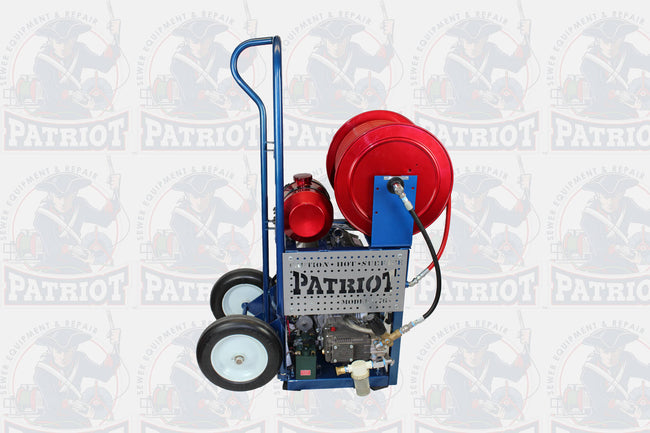 Patriot 1776 Hydro Jetter - 5.5 GPM (3,500 PSI Working Pressure)
