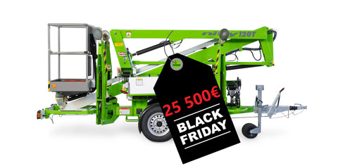 BLACK FRIDAY -  Niftylift N120T hinattava henkilönostin