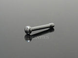 Flat Ball Nose Stud, 316L Surgical Steel Nose Bone