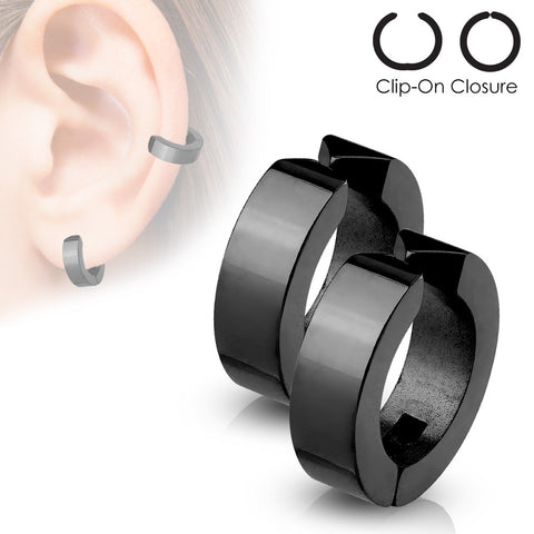 Non-Piercing Cartilage Clip-On Hoop