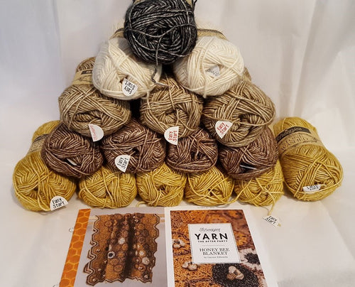 HONEYBEE BLANKET KIT - by GAYNOR EDWARDS
