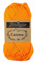 SCHEEPJES CATONA 50 gram YARNS (Colors N - Z)