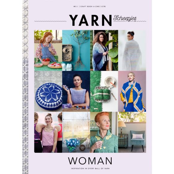 SCHEEPJES YARN BOOK-A-ZINE #5 - WOMAN