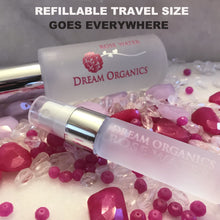 Dream Organics Rose Water with Refillable Travel Size