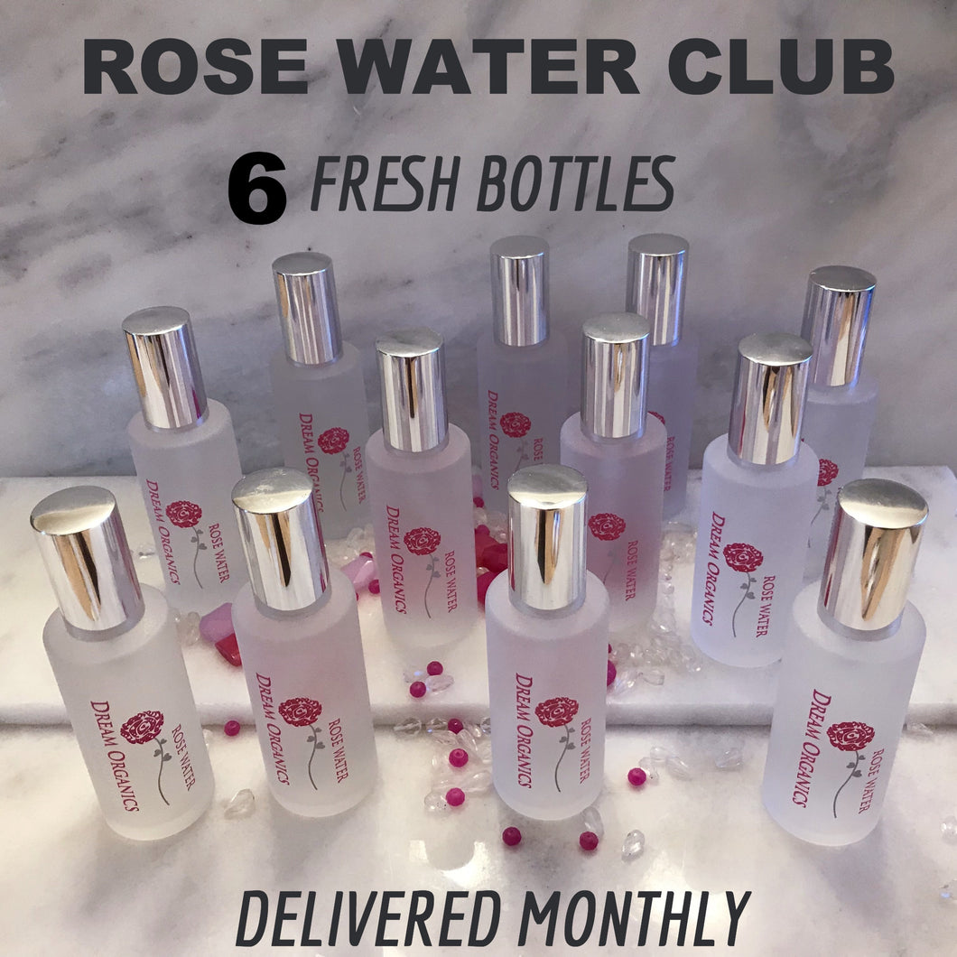 ONE YEAR OF ROSE WATER SUBSCRIPTION 4