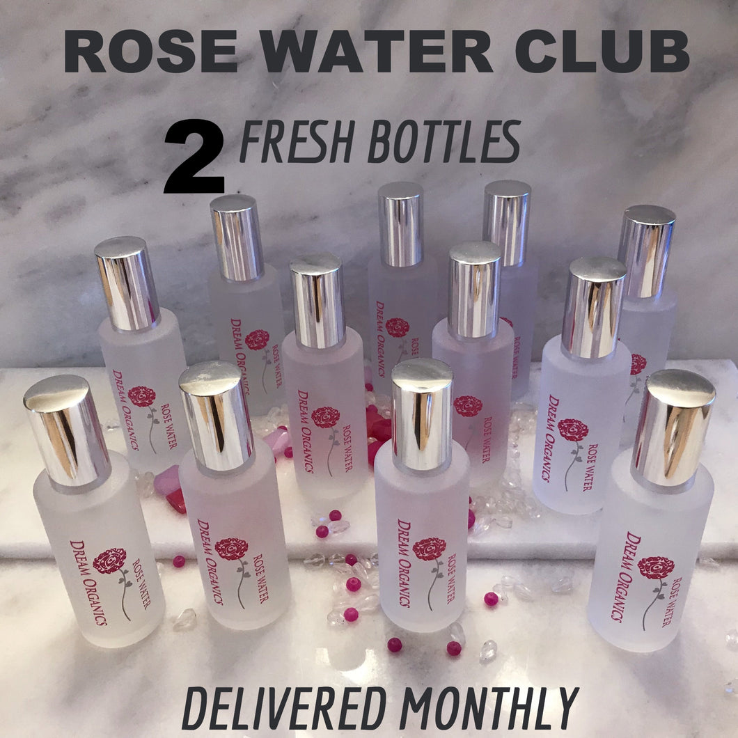 ONE YEAR OF ROSE WATER SUBSCRIPTION 2