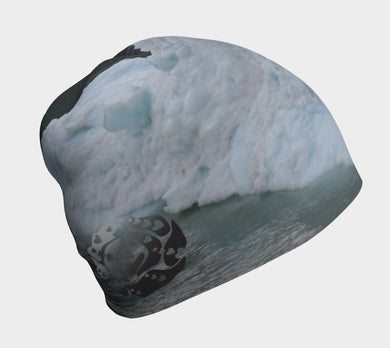 Beanie Glacier Bay Graphic 4 by Emily Rosebud