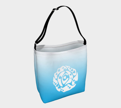 Day Tote by Emily Rosebud Light Blue