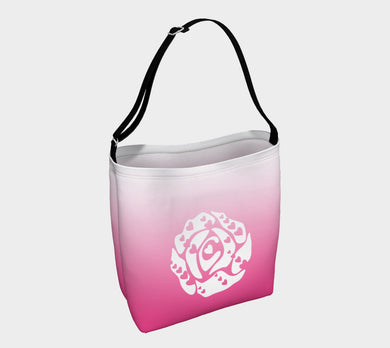 Day Tote by Emily Rosebud Hot Pink