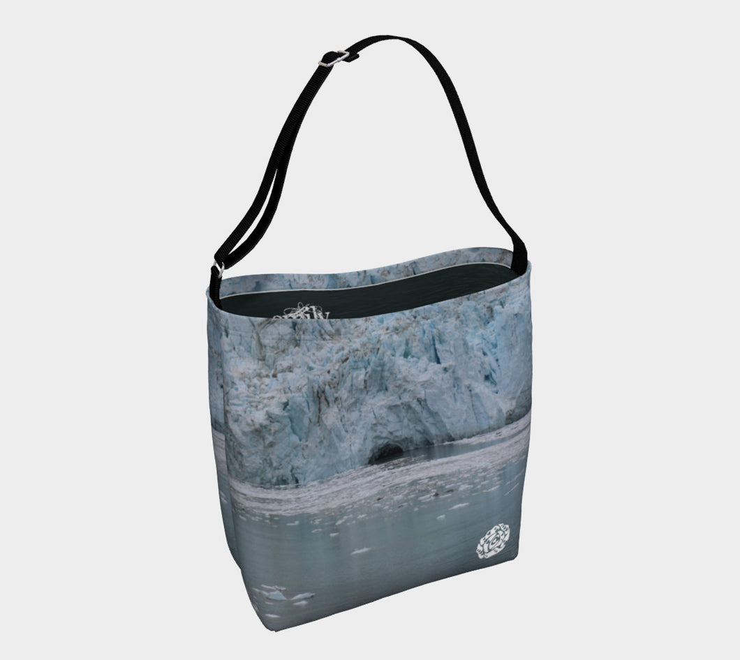 Day Tote Glacier Bay by Emily Rosebud