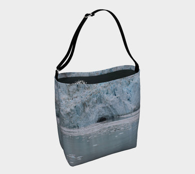 Day Tote by Emily Rosebud Glacier Bay 2