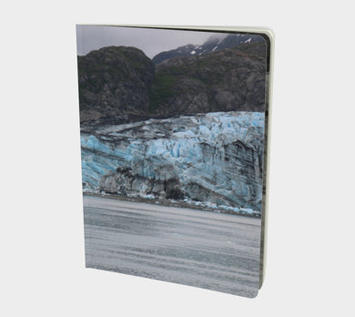 Large Notebook by Emily Rosebud GLACIER BAY