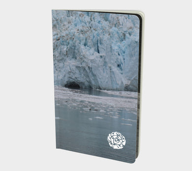 Small Notebook by Emily Rosebud Glacier Bay