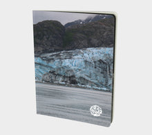 Large Notebook by Emily Rosebud Glacier Bay 2