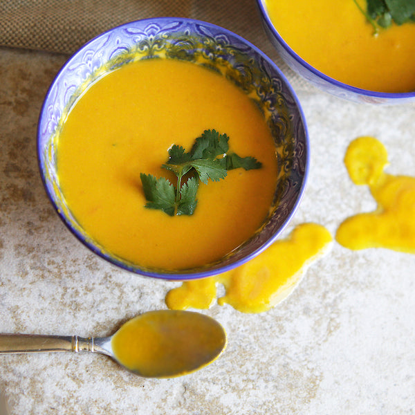 Peanut Sweet Potato Soup (V) - Green Spoon Kitchen