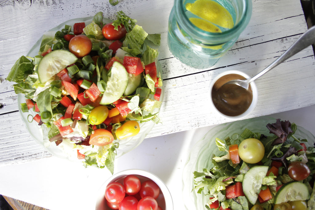 Mixed Greens Salad (Feeds 4) - Green Spoon Kitchen