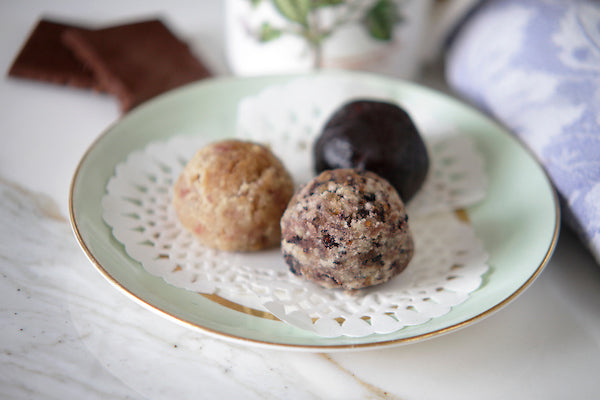 Mulberry Muffin Power Balls - Green Spoon Kitchen