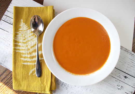 Tomato Basil Bisque  (V) - Green Spoon Kitchen
