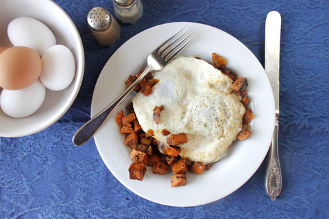 Sweet Potato Hash (V) - Green Spoon Kitchen