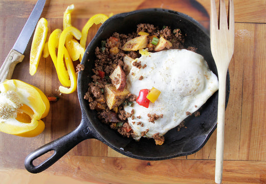 Mexican Hash - Green Spoon Kitchen