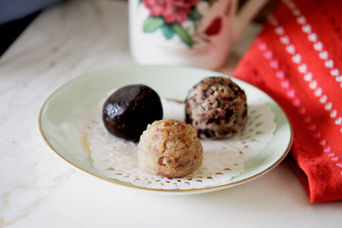 Cherry Muffin Balls - Green Spoon Kitchen