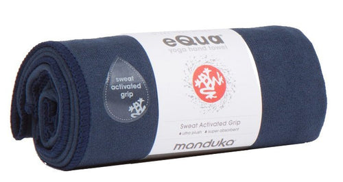 Manduka Equa Yoga Hand Towel Midnight