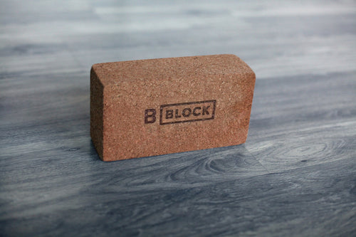 B Yoga Cork Yoga Block