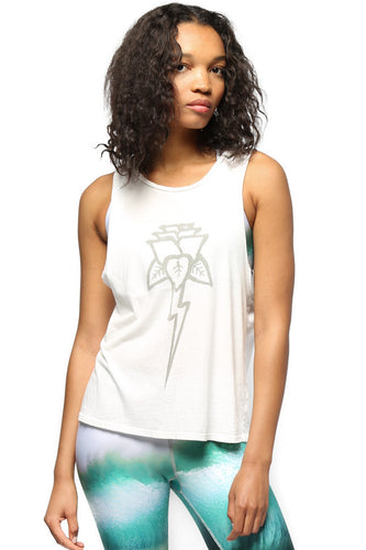 Electric & Rose Ozone Tank Tee Cloud