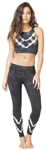 Electric & Rose Grayson Crop Top - Asphalt