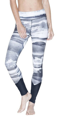 Electric & Rose Lake Leggings California Print