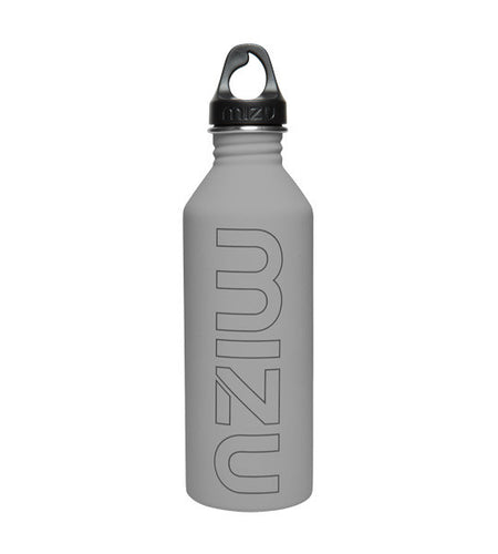 Mizu M8 Water Bottle Soft Touch Grey 800ml