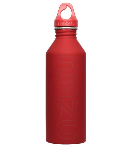 Mizu M8 Water Bottle Soft Touch Red 800ml