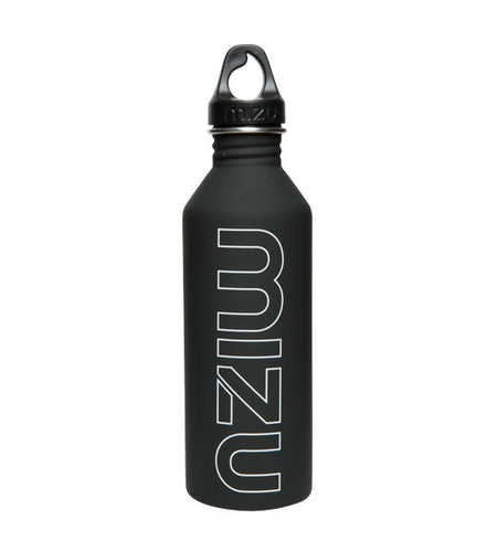 Mizu M8 Water Bottle Soft Touch Black 800ml