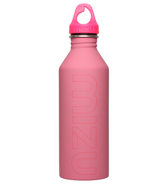 Mizu M8 Water Bottle Soft Touch Pink 800ml