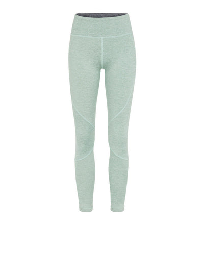 Vie Active Riley Crop Leggings Heather Mint
