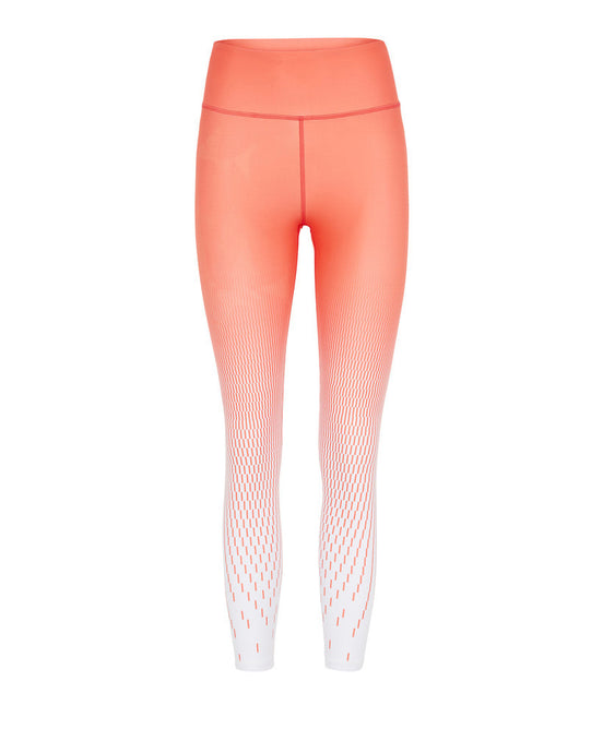 Vie Active Rokell 7/8 Compression Tights Coral Pixel Print