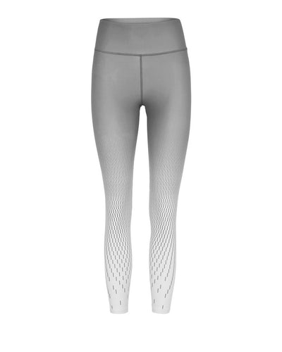 Vie Active Rokell 7/8 Compression Tights Slate Grey Pixel Print