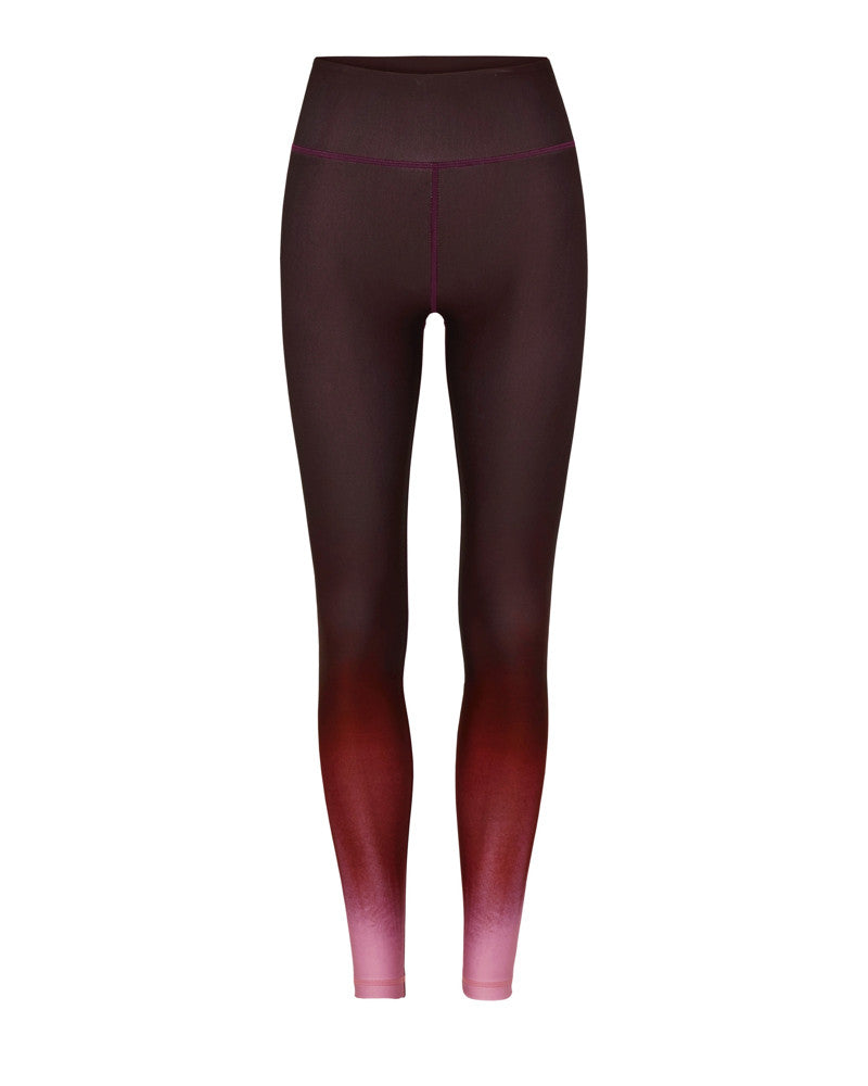 Vie Active Rockell 7/8 Tight Black Cherry Painted Ombre