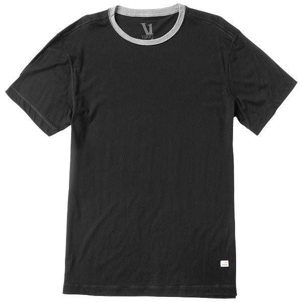 Vuori Tuvalu Stretch Mens Tee Black