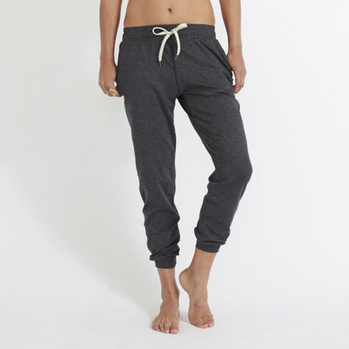 Vuori Womens Performance Jogger Pant Heather Charcoal