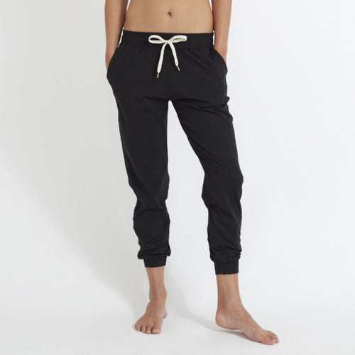 Vuori Womens Performance Jogger Pant Black