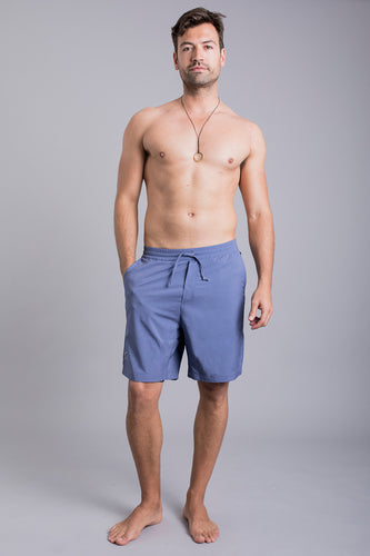 Ohmme Warrior II Lined Shorts - Storm Blue
