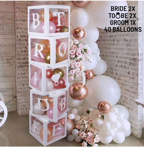 Bride To Be Decor Blocks